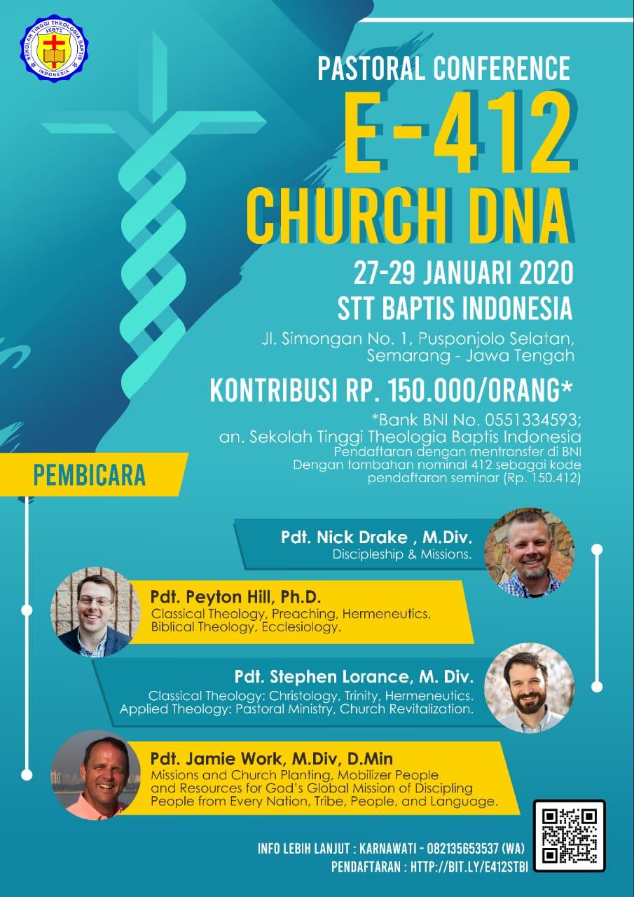 Pastoral Conference E-412